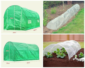 4 Size Polytunnel Greenhouse Patio Garden Outdoor Walk in Steel Frame Plant Care