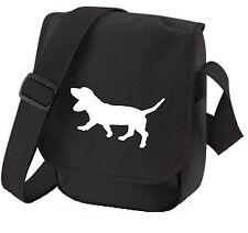 More details for basset hound gift pack shoulder bag & wallet dog birthday gift dog walkers bag