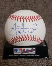 Sports Mem, Cards & Fan Shop Justin Morneau Autographed Signed 2006 Al Mvp Baseball Ball Twins Jsa Coa Pretty And Colorful Autographs-original