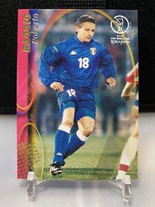 Roberto Baggio Italy Panini World Cup 2002 Japan Edition Only