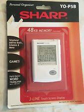New Sharp Personal Organizer Yo-P5B 48Kb Memory Translator Games Phone Book