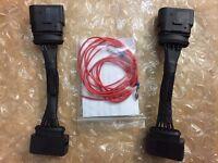 VW T5.1 / T6 Scheinwerfer Facelift Kabelbaum Adapter Kabel satz umbau für VW T5