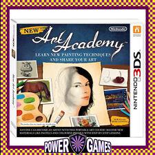 New Art Academy (Nintendo 3DS 2DS 3DS XL) Brand New
