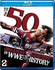 WWE - The 50 Greatest Finishing Moves In WWE History (Blu-ray, 2012, 2-Disc Set)
