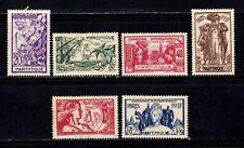 Martinique stamps # 180 - 185, MHOG, VVF