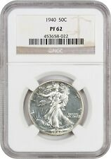 1940 50c NGC PR 62 - Walking Liberty Half Dollar