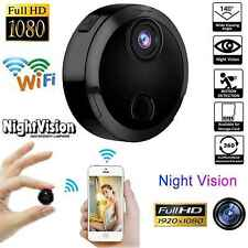 Mini Wireless IP Hidden Spy Camera WIFI 1080P Home Surveillance Cam Night Vision