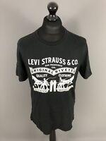 LEVI'S T-Shirt - Size Large - Black - Great Condition - Men's