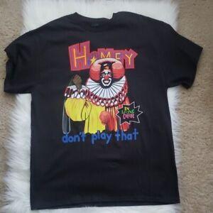 Homie the Clown In Living Color Men T-shirt Black Cotton Tee All Size DA017