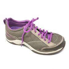 Women's Dansko Sabrina Shoes Sneakers Size 38 EU/7.5-8 Brown Suede Purple AA7