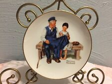 """Norman Rockwell Collector 6 1/2"""" Plate-the light house keepers daughter 1984"""