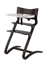Leander Hochstuhl Aktion in walnus incl.Sicherheitsbügel, Tablett und Sitzkissen