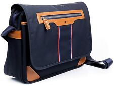 Borsa Tommy Hilfiger Messanger Bag Tracolla Uomo Donna Men Women Blu
