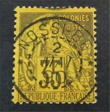 nystamps French Colonies Stamp # 56 Used $30