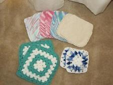 New listing Set of 6 Hand crocheted Pot Holders