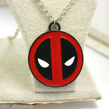 Deadpool Pendant with chain Full metal HQ NEW cosplay or just wear :) US Seller