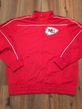 Vintage Majestic Kansas City Chiefs Track Jacket Size 2 Xl