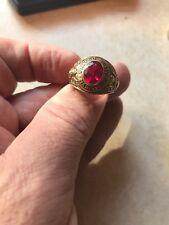 10k solid gold vintage united states marines ring