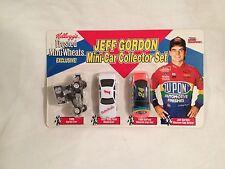 Racing Champions  Jeff Gordon Mini Car Collector Set