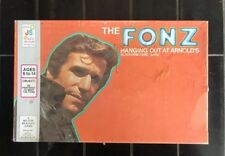 THE FONZ Hanging Out At Arnold's Vintage Platform Card Board Game 1976