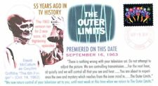 Coverscape computer designed 55th anniversary Tv premiere The Outer Limits cover