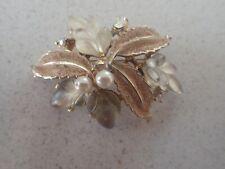 Brooch (Lot Z33) Vintage Leaf Flower
