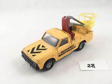 CORGI # 413 MAZDA MOTORWAY MAINTENANCE TRUCK TOWER WAGON ORIGINAL DIECAST 1976