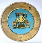 Israel Wall Hanging Brass Vintage Made Jerusalem Judaica Jewish  Plate Art star