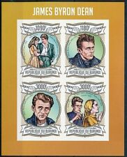 James Dean, Films, Actor, posthumous Award nomination, Burundi 2013 MNH 4v SS -V