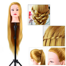 Hair Practice Training Head Mannequin Hairdressing Doll With Clamp Stand SS