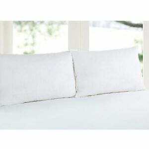 Twin Pack Duck Feather Standard Pillows 45 x 70 cm