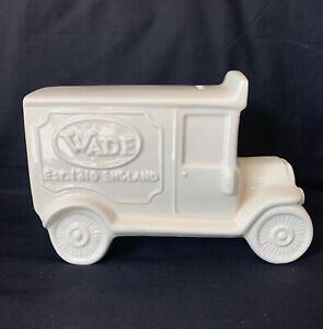 Wade Delivery Van Ceramic Money Box (Cream Colourway)