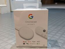 GOOGLE Chromecast with Google TV - Snow.