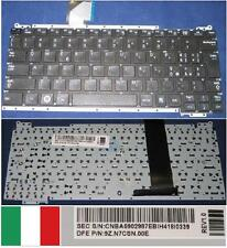 Tastiera Qwerty Italiana SAMSUNG NC110 BA59-02987E CNBA5902987 9Z.N7CSN.00E Nero