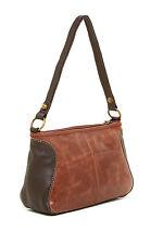 THE SAK Iris Hobo Shoulder Handbag -Leather Teak Multi -NWT MSP $129