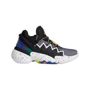 Adidas DON Issue #2 Womens Kids Basketball Shoes Donovan Mitchell Black [FZ1423]
