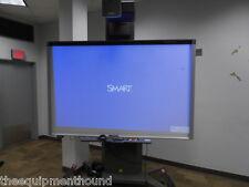 "SMART BOARD 800i5 INTERACTIVE WHITEBOARD SYSTEM UF75W PROJECTOR 87"" FS-UX CART"
