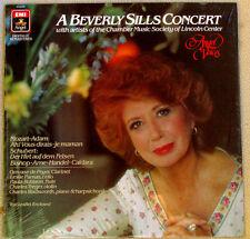 Beverly Sills Concert 1984 Angel Voices # AV-34036 OPERA Sealed LP