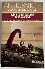 (FN942) ANTICIPATION FLEUVE NOIR  ? N° 1699 - LES PIERRES DE SANG
