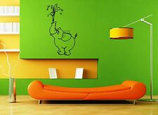 Wall Stickers Vinyl Decal Circus Elephant Animal Nursery Funny Children ig1668