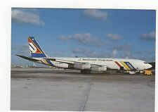 Aerolineas Uruguayas Boeing 707-331C Aviation Postcard, A644