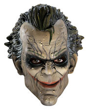 HALLOWEEN ADULT BATMAN THE JOKER  VINYL  MASK  PROP Arkham City