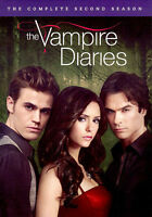 The Vampire Diaries - The Complete Second Season DVD (5 Disc)  Brand New