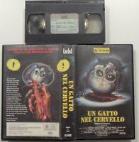 Un Gatto Nel Cervello (Empire Video) - VHS - Ex Noleggio