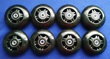 Outdoor Rollerblade Inline Hockey Skate Wheels (68mm / 83A) + Bearings + Spacers