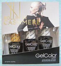 OPI GelColor ROLLIN IN CASHMERE Gwen Stefani Ltd Ed 3pc Gift Set F13 F16 F17 NIB