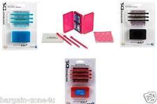 Nintendo Dsi Clean & Protect Kit Storage Case Game Cards Kids Boys Stylus 3