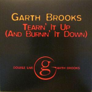 Garth Brooks Tearin It Up And Burnin It Down Cd Single