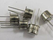 10 Stück - 2N4033 PNP TO39 Transistor 80V 1A 0,8W TELEFUNKEN 10pcs