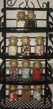 ⬇️$⬇️ Christmas Dollhouse Miniature Food Candy Shop/Display 1ml Bottles Lot 11